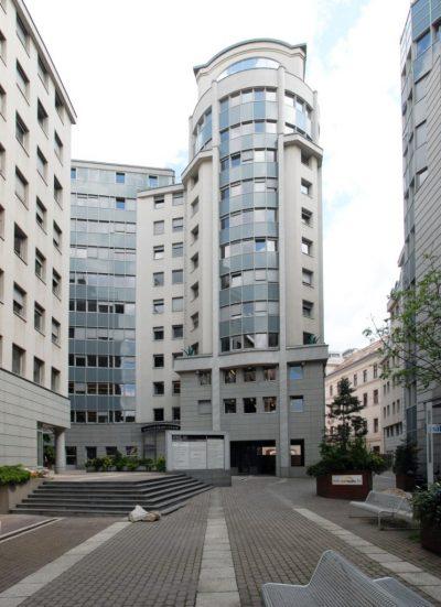 A Budapesti Központ irodájának épülete